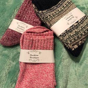 Brand new soft & cozy socks!